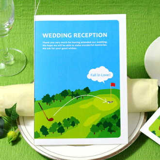 """Put product name and sport' bridal paper items Golf seating table brochure hand-made sets, wedding seating"