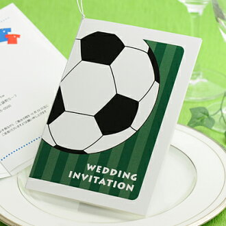 Soccer invitation completed order ( available from 20 ), wedding invitations