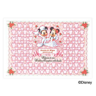 ディズニーメッセージパズルウェルカムボード(ミッキー&ミニータイプ)/結婚式二次会ウエルカムボード