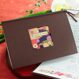 Sold out! Purple sound (Shion) handmade set, wedding invitations