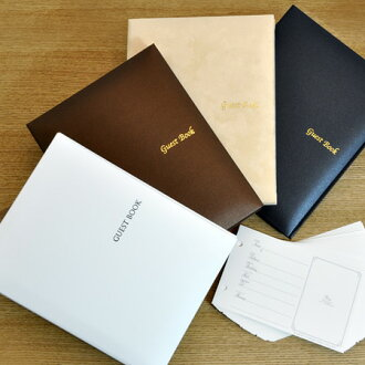 Our families-two books with free shipping! Guest Book 2 book set for cheki type card, wedding guest book guestbook
