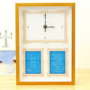 「リビングにぴったりサイズ」両親へのプレゼント ナチュラルウッディクロック 星座/結婚式両親へのプレゼント無垢材の天然木を使用した国産時計