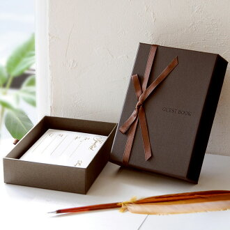 """""""Writing reviews free shipping"""" box type card guest book boelte ( standard 80 guest cards with ), wedding guest book guest book"""