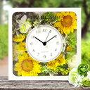 国産花時計「ひまわり」記念品