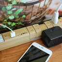【ネット限定商品】ファーゴ 木目調 タップキング Fargo Natural Wood TAPKING USB W-I-C インテリア 電源タップ デザイン 回...