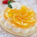 パーティデザート『オレンジ&チーズケーキ』 330g お取り寄せグルメ/スイーツ/ご当地グルメ/プレゼント/バレンタイン/ホワイトデー/誕生日/プチギフト/【軽井沢ファーマーズギフト】