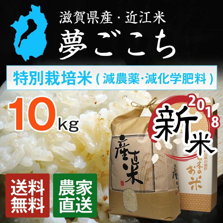 【新米】【近江米】特別栽培米 30年産 夢ごこち...の商品画像