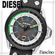 ディーゼル DIESEL 46mm メンズ 腕時計 グレー×ブラック ステンレススティール×レザー dz1717【代引き不可】/ 【YDKG-m】/【Luxury Brand Selection】