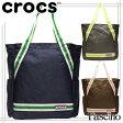 【選べる3色】クロックス バッグ CROCS BAG トートバッグ bka/グレー blu/ネイビー brn/ブラウン ポリエステル cc56514※クロックス日本正規販売総代理店より直接仕入れを行っております。ご安心ください。