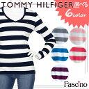 【クリアランスセール】【選べる6色】トミーヒルフィガー TOMMY HILFIGER ロングTシャツ 長袖Tシャツ コットン Vネッ…