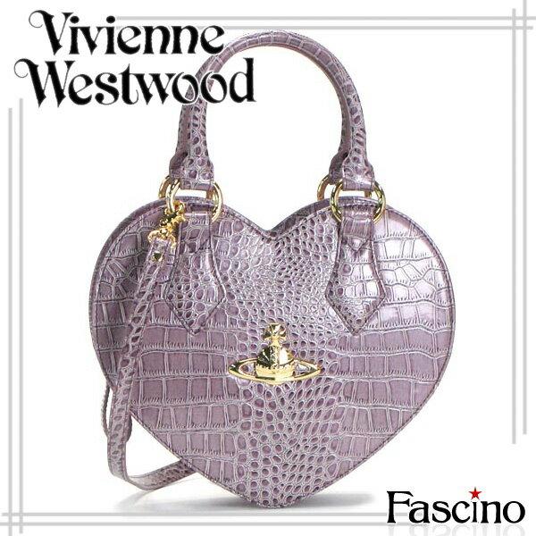 ヴィヴィアン・ウエストウッド Bag Vivienne Westwood バッグ NEW CHANCERY ハート型 2way ハンドバッグ LAVANDA Lパープル 合成皮革 6320-lavanda 【代引き不可】/【YDKG-m】/【Luxury Brand Selection】