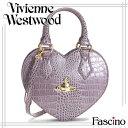 ヴィヴィアン・ウエストウッド Bag Vivienne Westwood バッグ NEW CHANCERY ハート型 2way ハンドバッグ LAVANDA Lパープル 合成皮革 6320-lavanda 【代引き不可】/【YDKG-m】/【Luxury Brand Selection】02P03Dec16