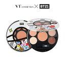 【VT Cosmetic】クロDM送料無料 BT21アイシャドウ パレット 12g COVT2099 韓国 コスメ