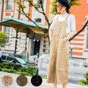ショッピングキャミ 【クーポン利用で3899円!】送料無料 ジャンパースカート M/L/LL/3L/4Lサイズ ワンピース レディース/キャミワンピース/ノースリーブ/オーバーオール/ジャンバースカート/サロペットスカート/オールインワン 大人のサロペットスカート。 大きいサイズで、ゆったりと。