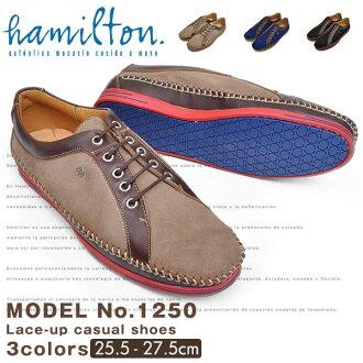 2015 漢密爾頓漢密爾頓休閒鞋的顏色鞋子休閒鞋男式皮鞋平面顏色哪個成人休閒皮革真皮藍砂黑
