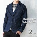 テーラードジャケット メンズ ジャケット デニム テーラード M L XL メンズファッション キレカジ カジュアル トラッド センターベンツ