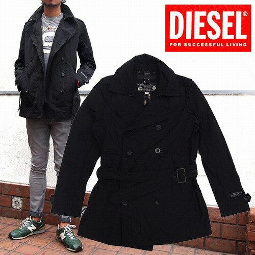 【送料無料】[DIESEL]ディーゼル 2014-2015年秋冬新作 メンズ トレンチコート