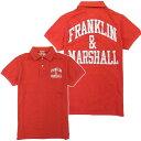 [FRANKLIN&MARSHALL]フランクリンマーシャル 2010年春夏新作 メンズ ポロシャツ LOBSTER(レッド)【10%OFF!!】
