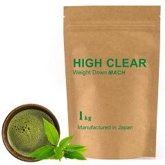 HIGH CLEAR ハイクリアー ウェイトダウンマッハプロテイン 1kg(約40回分) 本格抹茶味