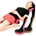 【50%OFF】 ストレッチ習慣座椅子 LOZA メッシュタイプ ピンク/ブラウン