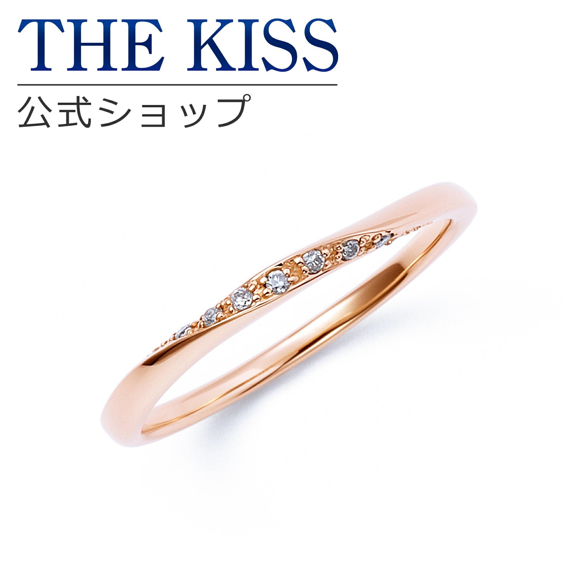 【対応】 【】【送料無料】【THE KISS sweets】【ペアリング】 K10ピンクゴールド ダイヤモンド レディース リング (レディース単品)☆ ダイヤモンド ゴールド ペア リング 指輪 ブランド Diamond GOLD Pair Ring couple カップル に 人気 の THEKISS sweets ( ザ キス ) ! 通販 人気 ブランド アクセサリー ペア リング 指輪 は thekiss ザキス シルバー ジュエリー 記念日 誕生日 プレゼント に