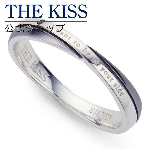【あす楽対応】THE KISS 公式サイト シルバー ペアリング (メンズ 単品 ) ブラックダイヤモンド ペアアクセサリー カップル に 人気 の ジュエリーブランド THEKISS ペア リング・指輪 記念日 プレゼント SR6042BKD ザキス 【送料無料】
