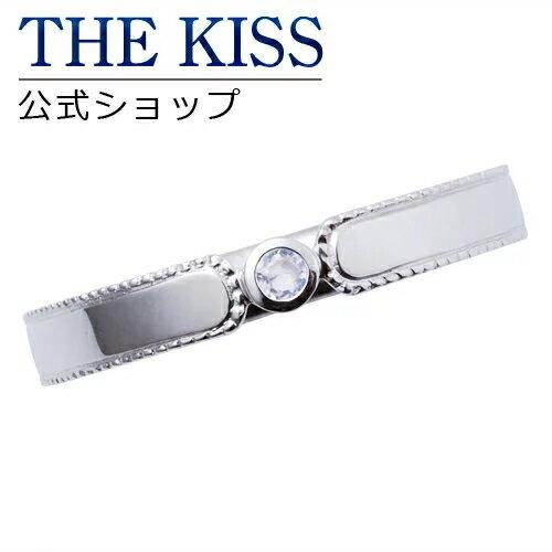 【あす楽対応】 THE KISS 公式サイト シルバー ペアリング ( レディース・メンズ 単品 ) ペアアクセサリー カップル に 人気 の ジュエリーブランド THEKISS ペア リング・指輪 SR6053RBM ザキス