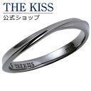 【あす楽対応】【2019年クリスマス限定】THE KISS 公式サイト シルバー ペアリング ( メンズ 単品 ) ペアアクセサリー カップル に 人気 の ジュエリーブランド THEKISS ペア リング・指輪 記念日 プレゼント 2019-01RBK-DM ザキス 【送料無料】