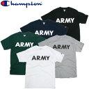 Champion チャンピオン ARMY Tシャツ アーミー プリント コットン ミリタリー