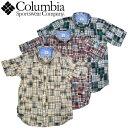 コロンビア Columbia TUBBS HILL SHIRT マドラスチェック パッチワークシャツ ボタンダウンシャツ アウトドア