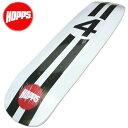 HOPPS(ホップス )スケートデッキ オールドスクール 4ZINGER NewYork NY USA スケートボード板 スケボーデッキ SK8 ビンテージ アメカジ