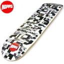 HOPPS(ホップス)スケートボードデッキ スケボー板 JHAMAL WILLIAMS(ジャーマル・ウィリアムス)ANDY SCHANSBERG シグネチャーモデル NewYork SKATEBOARDS スケートボード
