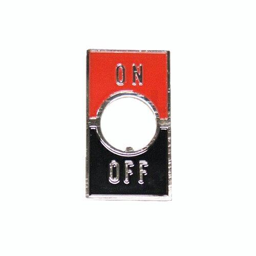 在庫品 ユーボン ST-1 (ON-OFF) トグルスイッチ用銘板