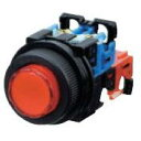 富士電機 φ30照光押しボタンスイッチ 丸フレーム、突形φ24(モメンタリ)  AR30E0L-10E3A