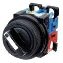 富士電機 AR30PR-220B φ30 セレクタスイッチ ツマミ形 2ノッチ 接点構成 2a 黒