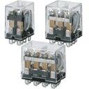 オムロン バイパワーリレー LY2N-D2 DC24 コイルサージ吸収用ダイオード形2極 表示灯付 プラグイン端子