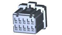 在庫品 TE Connectivety (AMP) 1-1827862-5 DMC 1100D RECHSG 10P X BLACK