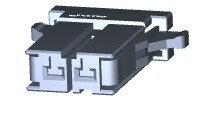 在庫品 TE Connectivety (AMP) 2-178128-2 DYNAMIC 3200S REC HSG 2P SGL