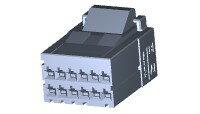 在庫品 TE Connectivety (AMP) 1-1318118-6 DYNAMIC D-2100 REC HSG 12P