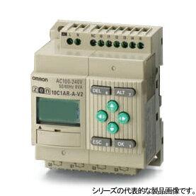 在庫品 プログラムリレー ZENシリーズ 電線 圧着工具 ZEN-10C1AR-A-V2 CPUユニットLCDタイプ I/O点数10点 工具 電源AC100-240 リレー出力:FAUbon 店