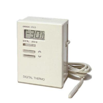 在庫品 オムロン E5LD-2C AC100 デジタルサーモ 表示単位0.1(℃) 一体形サーミスタ入力 リード線長さ2m 正動作(冷却用) リレー出力(接点1a) 設定温度範囲-10.0〜40.0(℃)