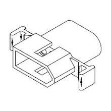 在庫品 1396P モレックス 汎用コネクタ プラグ 3極 オス