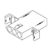 在庫品 1396R1 モレックス 汎用コネクタ レセプタクルハウジング 3極
