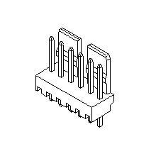 在庫品 5045-03A モレックス 5045シリーズ PCBヘッド 基板用ウエハーストレートタイプ 3極
