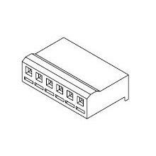 在庫品 5195-06 モレックス 3.96mmピッチ 電線対基板用ハウジング 6極