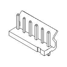 在庫品 5281-03A モレックス 5.08mmピッチ 電線対基板用ウエハーストレートタイプ 3極