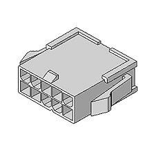 在庫品 5559-02P モレックス 4.2mmピッチ 電線対電線中継用コネクタ プラグハウジング 2極
