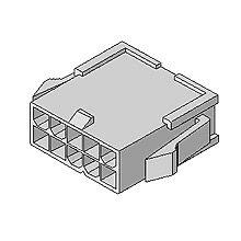 在庫品 5559-04P モレックス 4.2mmピッチ 電線対電線中継用コネクタ プラグハウジング 4極