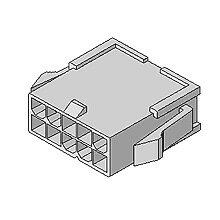在庫品 5559-08P モレックス 4.2mmピッチ 電線対電線中継用コネクタ プラグハウジング 8極