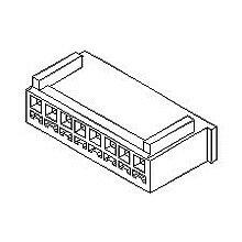 在庫品 51191-0500 モレックス 2.5mmピッチ 中継用リセプタクルハウジング 5極